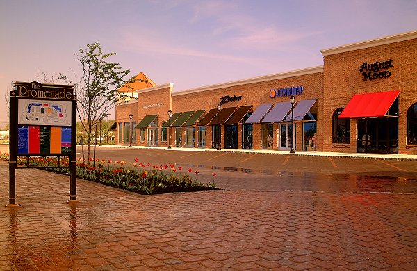 The Promenade at Sagemore is a large regional shopping mall located in the Marlton section of Evesham Township, in Burlington County, New Jersey, United States, leased by Kravco Simon.